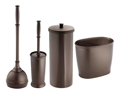 MetroDecor Toilet Bowl Brush Plunger