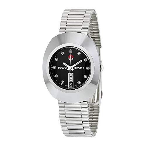 - Rado Diastar Jubile Black Dial Automatic Mens Watch R12408613