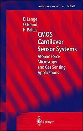 Download online Cantilever-Based CMOS Sensor Systems PDF