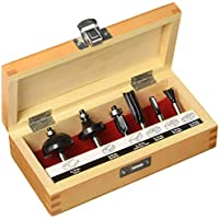 Craftsman 926004 6 Piece Router Bit Set