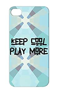 Black Shatterproof Nerd Humor Gaming Internet Computer Play Geek Game Gamer Anonymous TPU For Iphone 5/5s Keep Cool More Case