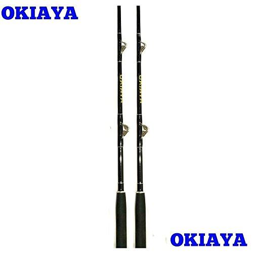 Tackle Roller - OKIAYA COMPOSIT 30-80LB White Marlin Saltwater Big Game Roller Rod(6 Foot Rod)