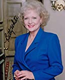 BETTY WHITE (The Golden Girls) signed 8X10 photo -  Authentic Autographs