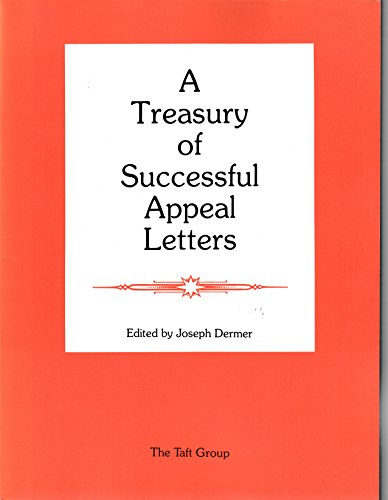 A Treasury of Successful Appeal Letters (Fund Raising Successful Letters)