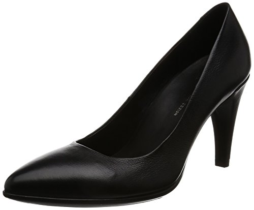 Ecco Pointy Shape Femme 75 11001black Noir Escarpins AwA7xcOEqr