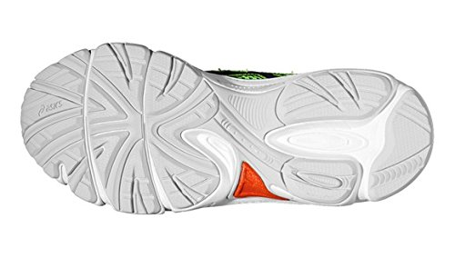 Asics Gel IKAIA 5 GS Flash Bambino Scarpe Running Scarpe corsa yellow/Silver/Green C50RQ -0493