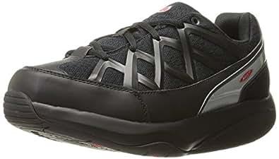 MBT Women's Sport 3 Comfort Width Black Walking Shoes, Size 35