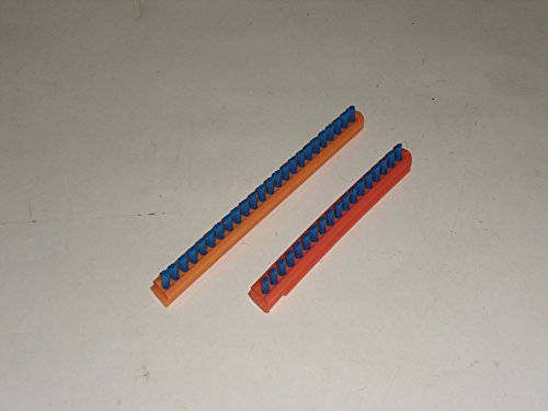 (Sanitaire Commrcial & Eureka Upright Roller Brush Inserts Only 2 PK Genuine Part # 52282A-4,52282-4)