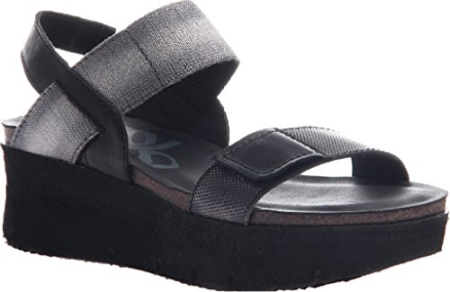 Sandal Leather Black Women's Platform OTBT Textile Nova Fwq8tx7