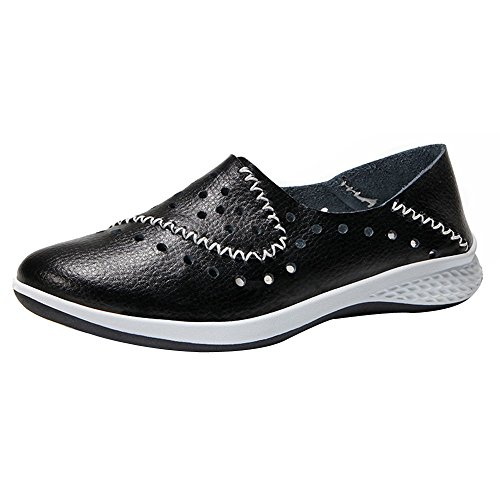 Clearance Sale Shoes For Women,Farjing Fashion Women Round Head Flat Breathable Leisure Sports Shoes Shake Shoes(US:5.5,Black) by Farjing