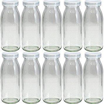 Garasubin.com M-200 Milk Bottle 200ml (6.76oz) 1set(10jars)