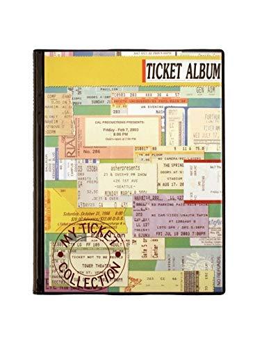 Concert Ticket Album (Ticket Stub Album)