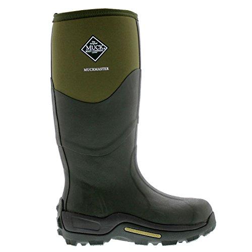 Muck Mens Muckmaster Green Textile Boots 9 - Green Hours Wellington