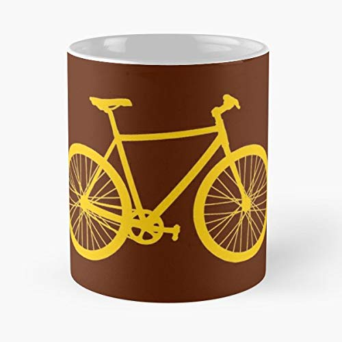Bike Cycle Hipster Fix Retro Cult Vintage Cool Ride Chain Spokes Peddle - Best 11 oz Coffee Mug Cheap Gift