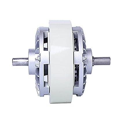 MXBAOHENG Partes de máquinas 50 N.m Dos cañas Electro magnético Polvo Embrague Freno re-Reeling