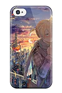 deers little anime children Anime Pop Culture Hard Plastic iPhone 4/4s cases