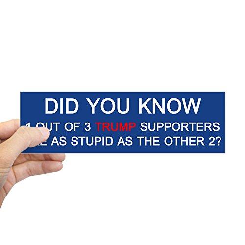 (CafePress Trump Supporters Bumper Sticker 10