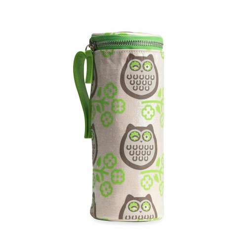 Apple & Bee Baby Bottle Holder, Owls