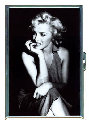 Marilyn Monroe Classic Image Double-Sided Cigarette Case, ID Holder, Wallet with RFID Theft Protection