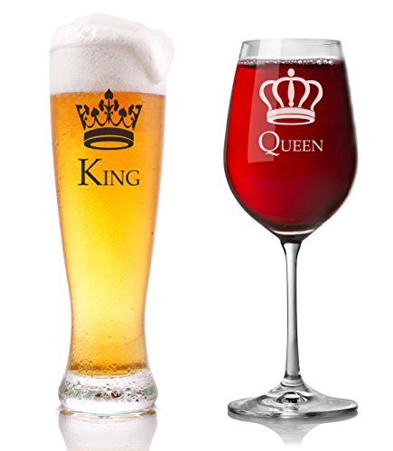 king-queen-185-oz-wine-23-oz-beer-glass-set-largest-crown-set-available-ideal-for-parties-weddings-i