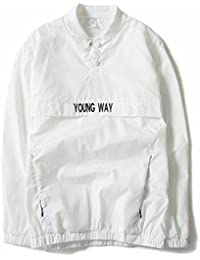 New Reflective Windbreaker Jacket Men Autumn Tide Brand Off White Jacket Chaqueta Hombre