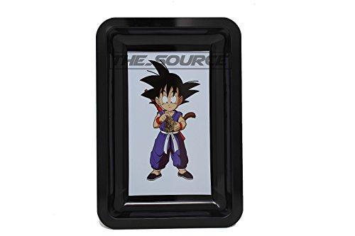 Laser Tray (Goku Dragon Ball Z Design Laser Printed Metal Rolling Tray 6