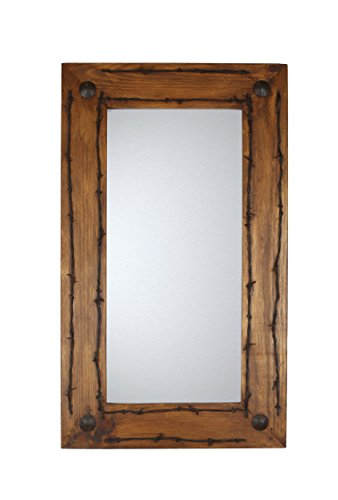 Rustic Mirrors Old Ranch Barbed Wire Review