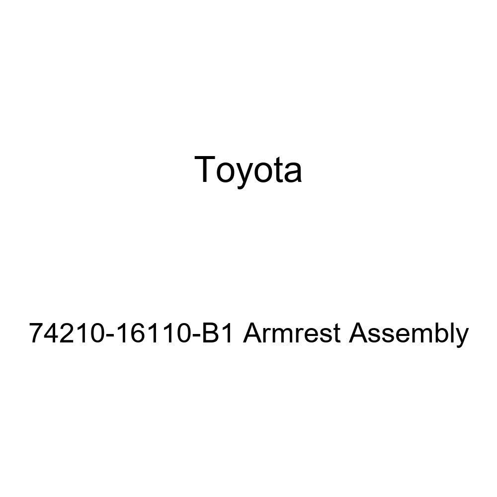 TOYOTA 74210-16110-B1 Armrest Assembly