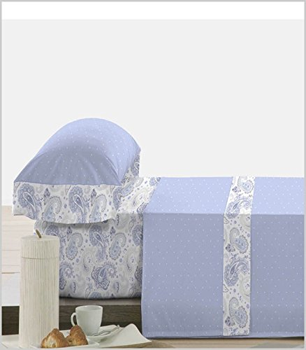 Polo Polo J. de sábanas Fulien - Azul, Cama de 90 cm: Amazon.es: Hogar