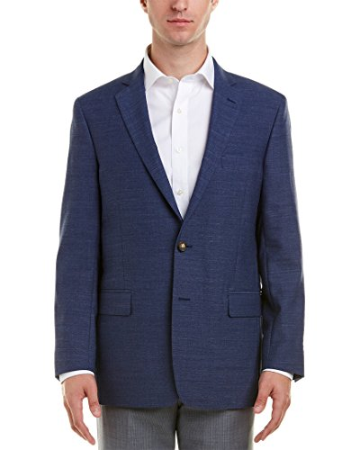 Brooks Blazer - Brooks Brothers Mens Regent Fit Wool-Blend Suit Jacket, 42R, Blue
