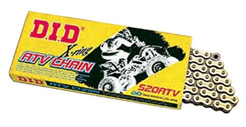 Atv X-ring Chain - D.I.D 520ATV2-100 520 ATV Series X-Ring Sealed Chain - 100 Links - Gold