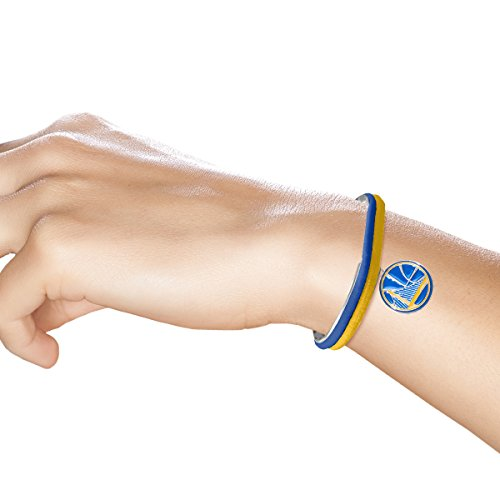 NBA Golden State Warriors Hair Tie Bangle Bracelet by Littlearth