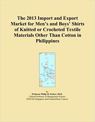 The 2013 Import and Export Market for Men's and Boys' Shirts of Knitted or Crocheted Textile Materials Other Than Cotton in Philippines