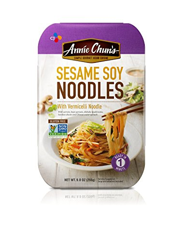 (Annie Chun's Sesame Soy Noodles with Vermicelli, Non-GMO Gluten-Free Ready Meal, 9-oz (Pack of 6))