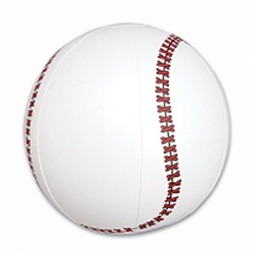 - 1 Baseball Beach Ball Inflatable Pool Toy Ball 16