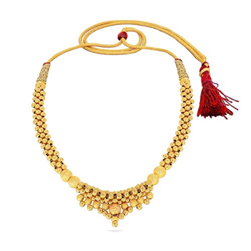 Candere-By-Kalyan-Jewellers-22k-916-Yellow-Gold-Choker-Necklace-for-Women