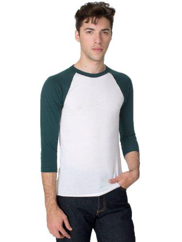 Cotton 3/4 Sleeve Raglan - 3
