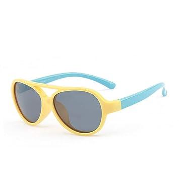Siwen Gafas de Sol Redondas para niños Polarized Boy Girls ...