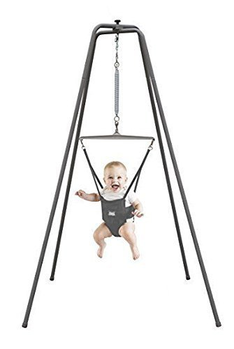 da74bdf694b Jolly Jumper - The Original Baby Exerciser with Super Stand for Active  Babies that Love to Jump and Have Fun