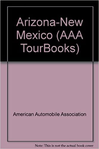 Road Map Of Arizona And New Mexico.Arizona New Mexico Aaa Road Map American Automobile Association