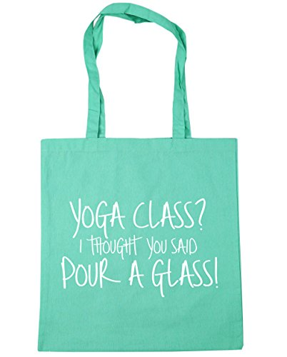 x38cm Said Beach I Mint Gym Tote Glass You Shopping Thought a 42cm litres Yoga Bag 10 Pour Class HippoWarehouse xq7XZAw