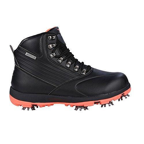 Stuburt 2017 Ladies Waterproof Endurance Golf Shoes Winter Boots Black/Coral 7UK by Stuburt