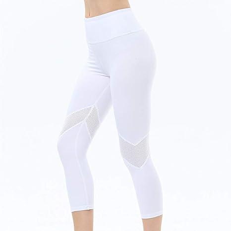 WZXY Pantalones de Yoga Pantalones de Yoga Verano Mujeres ...