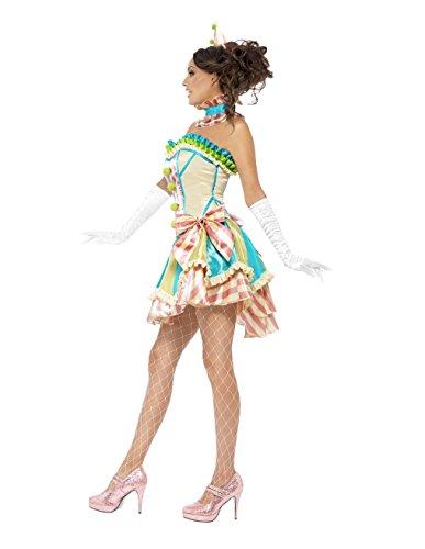 A mehrfarbig Linie Kleid GGTBOUTIQUE hellrosa Damen 6qwAaa