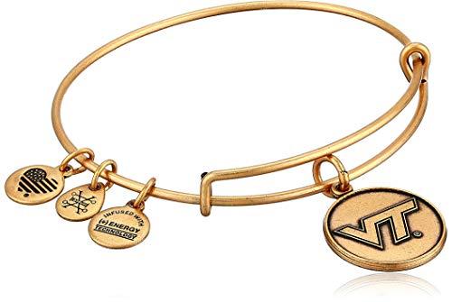 Alex and Ani Virginia Tech Logo Expandable Bangle Bracelet