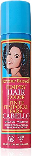 Jerome Russell Temporary Spray, Burgundy 2.2 oz (Pack of 12) by Jerome Russell