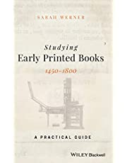 Werner, S: Studying Early Printed Books, 1450-1800
