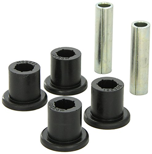 Shackle Bushing - Daystar, Jeep YJ Wrangler Polyurethane Frame Shackle Bushings Front or Rear, fits 1987 to 1996 4WD, KJ02009BK, Made in America, Black