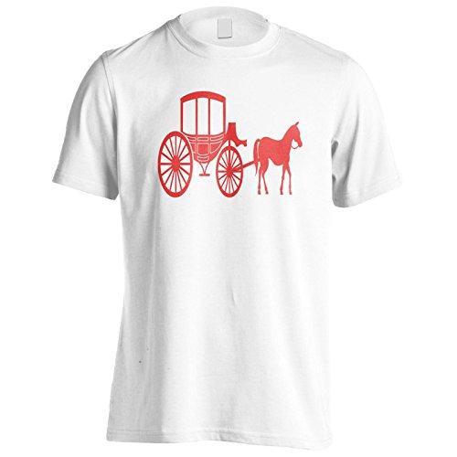 Pferd Und Wagen Herren T-Shirt k624m
