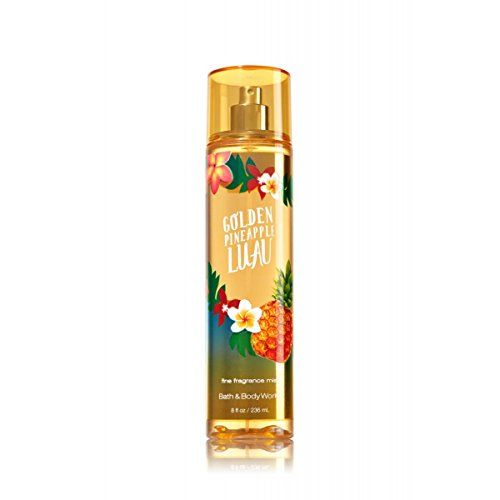 Bath and Body Works Fine Fragrance Mist Golden Pineapple Luau 8 (Golden Body)
